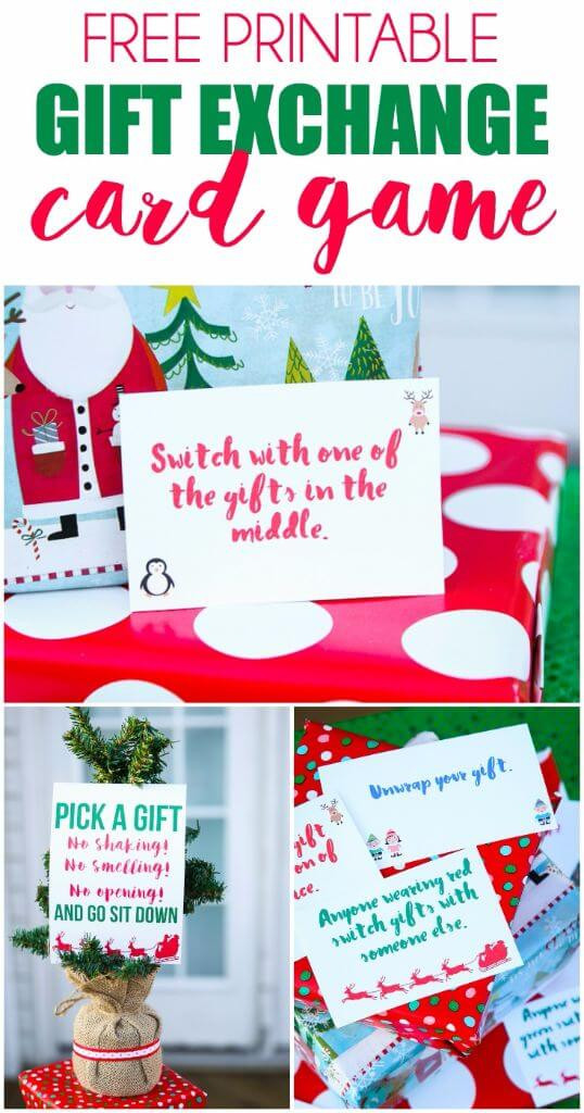 Best ideas about Funny Gift Exchange Ideas . Save or Pin Free Printable Exchange Cards for The Best Holiday Gift Now.