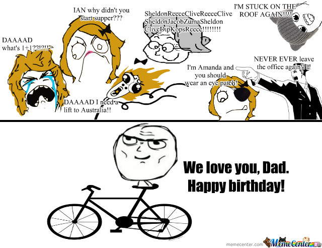 Best ideas about Funny Happy Birthday Dad Meme . Save or Pin Happy Birthday Dad by lisabee Meme Center Now.