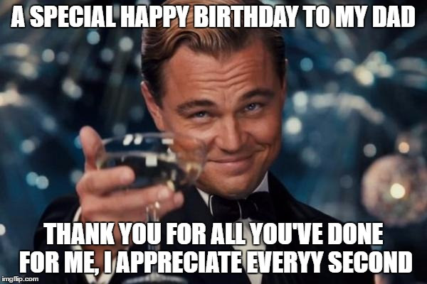 Best ideas about Funny Happy Birthday Dad Meme . Save or Pin Cheers To My Dad s 45 Birthday Today Imgflip Now.