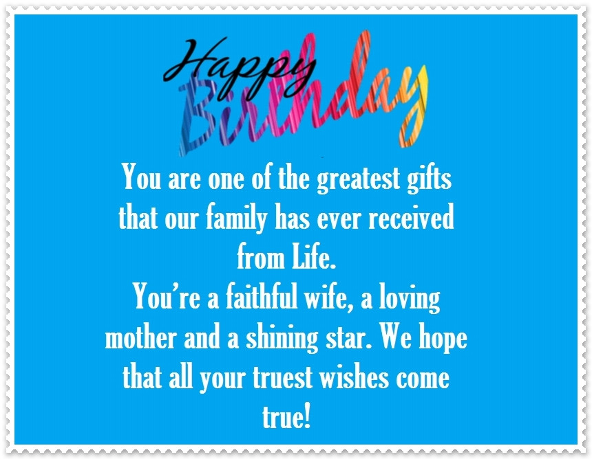 Best ideas about Funny Happy Birthday Daughter . Save or Pin Daughter in Law Happy Birthday Quotes and Greetings Now.