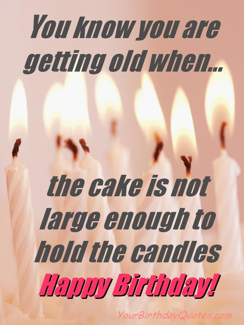 Best ideas about Funny Happy Birthday Quotes . Save or Pin birthday fun quotes funny birthday quotes quotes image Now.