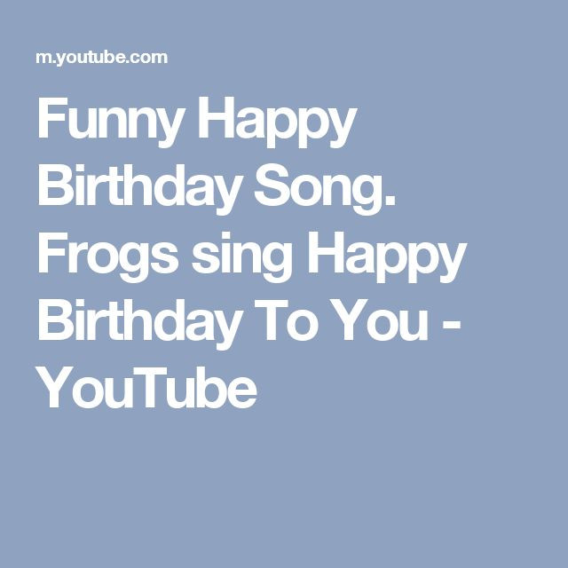 Best ideas about Funny Happy Birthday Songs For Adults . Save or Pin 25 best ideas about Funny happy birthday video on Now.
