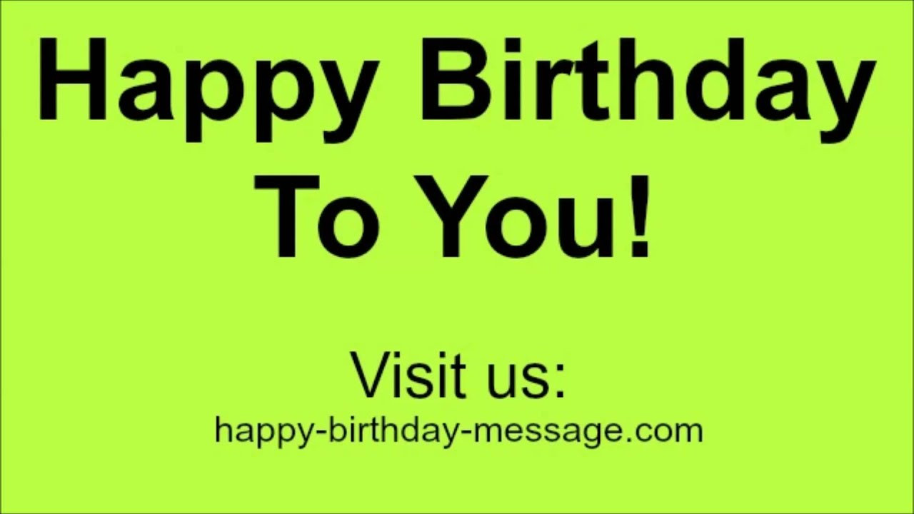 Best ideas about Funny Happy Birthday Songs For Adults . Save or Pin Happy Birthday To You Song Funny Vocals Version Now.