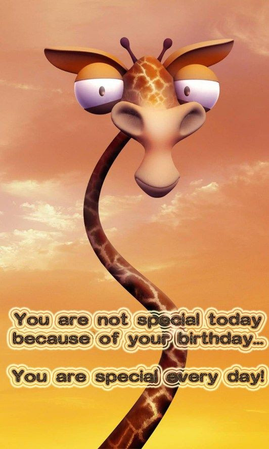 Best ideas about Funny Happy Birthday Wishes . Save or Pin Funny birthday image with greeting words Now.