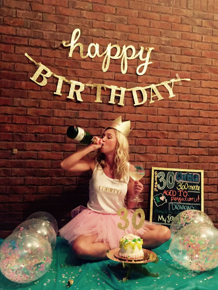 Best ideas about Funny Sexy Birthday . Save or Pin 30th Birthday smash cake and booze photo shoot Drinking Now.