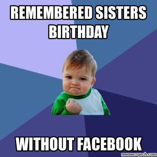 Best ideas about Funny Sister Birthday Memes . Save or Pin funny happy birthday meme collection boyfriend girlfriend Now.