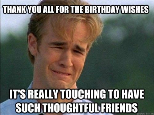 Best ideas about Funny Thank You For Birthday Wishes . Save or Pin 25 best Funny happy birthdays ideas on Pinterest Now.