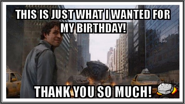 Best ideas about Funny Thank You For Birthday Wishes . Save or Pin Funny Birthday Thank You Meme Quotes Now.