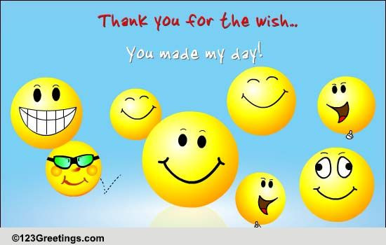Best ideas about Funny Thank You For Birthday Wishes . Save or Pin Thank You So Very Much Free Birthday Thank You eCards Now.