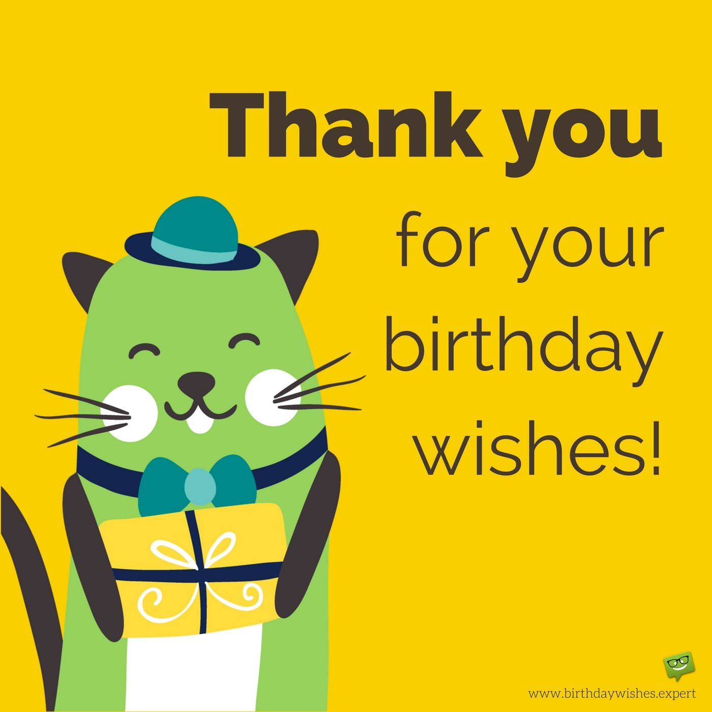 Best ideas about Funny Thank You For Birthday Wishes . Save or Pin Thank you for your Birthday Wishes & For Being There Now.