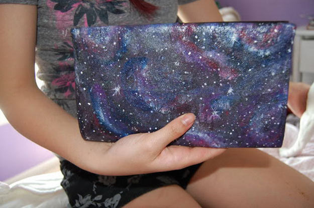 Best ideas about Galaxy Paint DIY . Save or Pin Brilliantly Creative DIY Galaxy Ideas Now.