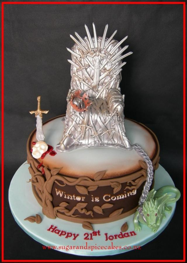 Best ideas about Game Of Thrones Birthday Cake . Save or Pin Game of Thrones Cake cake by Mel SugarandSpiceCakes Now.