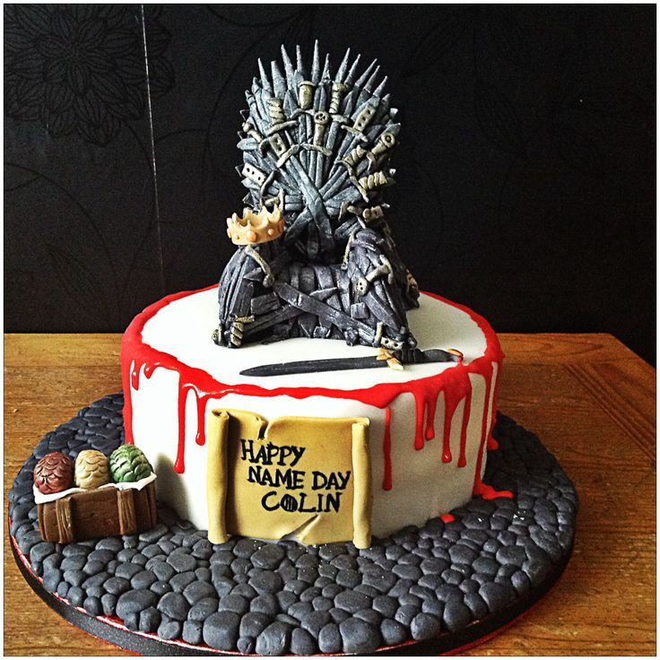 Best ideas about Game Of Thrones Birthday Cake . Save or Pin 202 best Game of Thrones Cakes images on Pinterest Now.