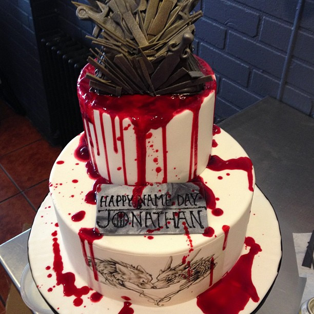Best ideas about Game Of Thrones Birthday Cake . Save or Pin Check Out This Blood Spattered 'Game of Thrones' Birthday Cake Now.