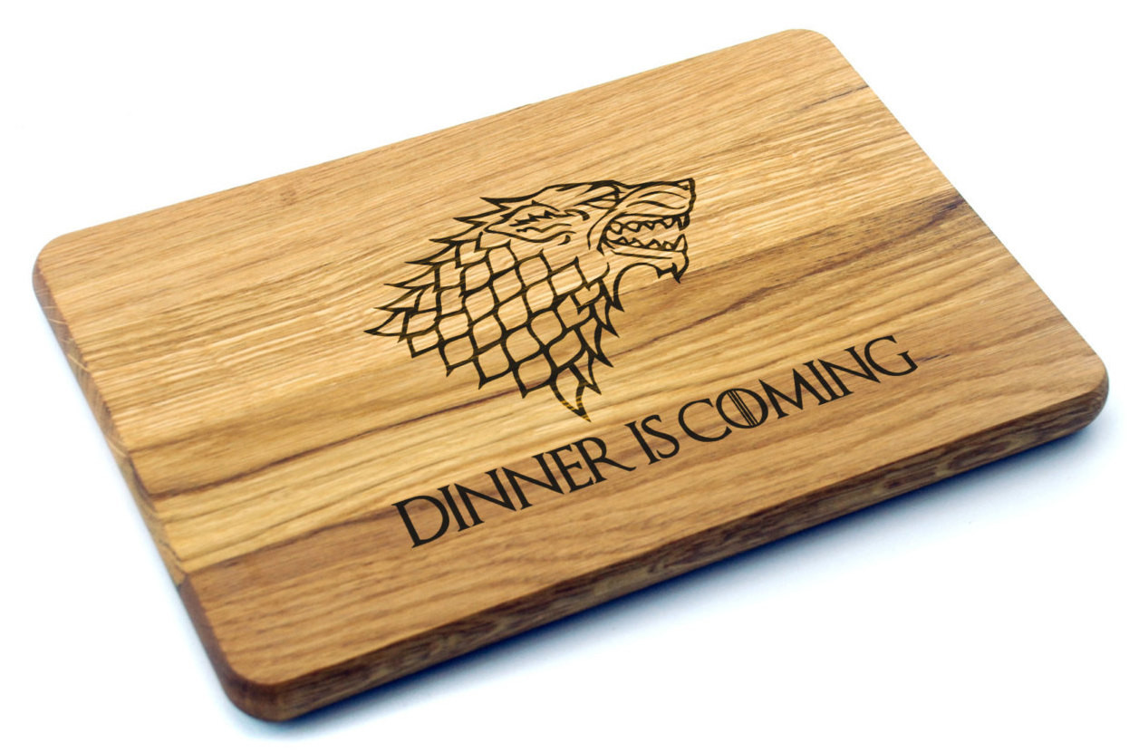 Best ideas about Game Of Thrones Gift Ideas For Him . Save or Pin Cutting Board Game of Thrones Gift Birthday Gift Gift for Now.