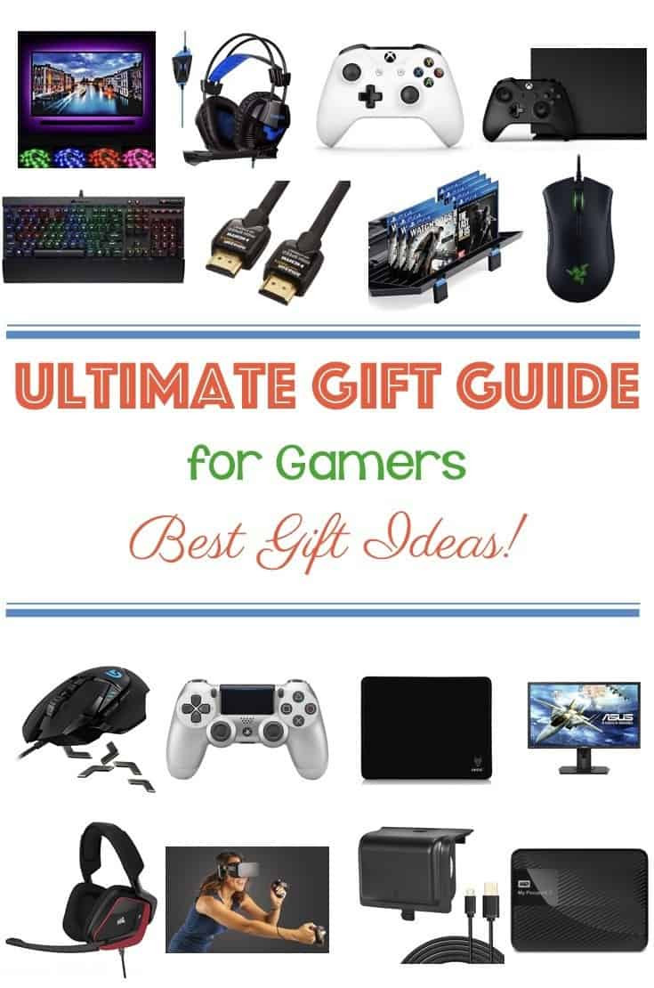 Best ideas about Gamers Gift Ideas . Save or Pin Ultimate Gift Guide for Gamers – Best Gift Ideas Cook Now.