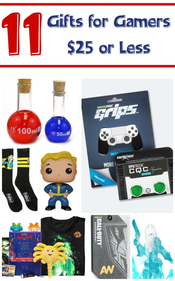 Best ideas about Gamers Gift Ideas . Save or Pin 11 Inexpensive Gift Ideas for Gamers Now.