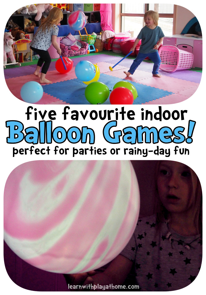 Best ideas about Games For Birthday Party At Home . Save or Pin 5 fun indoor balloon party games Parenting hacks Now.
