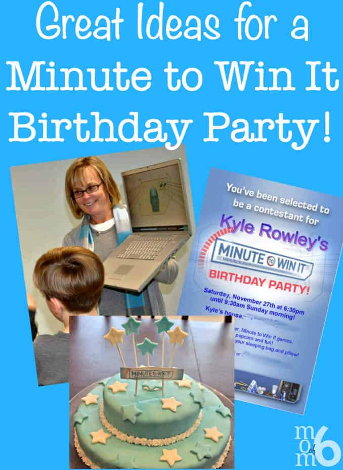 Best ideas about Games For Birthday Party At Home . Save or Pin Great 10 Year Old Boy s Birthday Idea Minute to Win It Now.