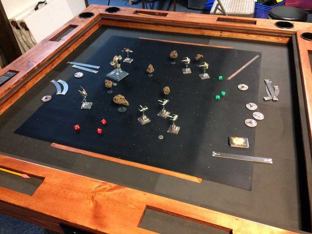 Best ideas about Gaming Table DIY . Save or Pin DIY Tabletop Gaming Table World Building Technabob Now.