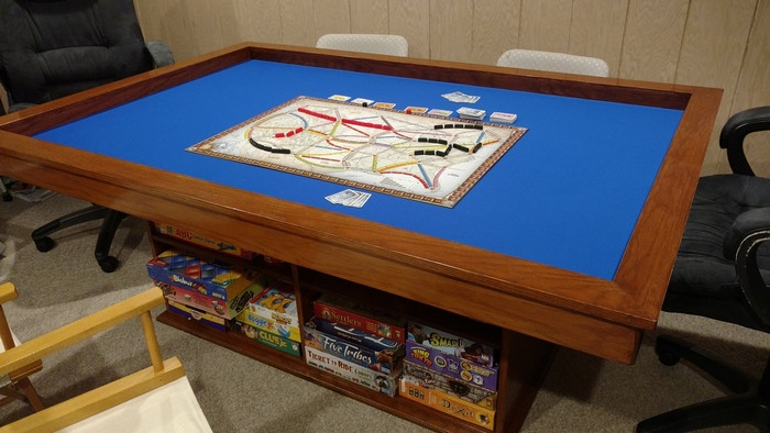 Best ideas about Gaming Table DIY . Save or Pin Build your own gaming table with plenty of storage Now.