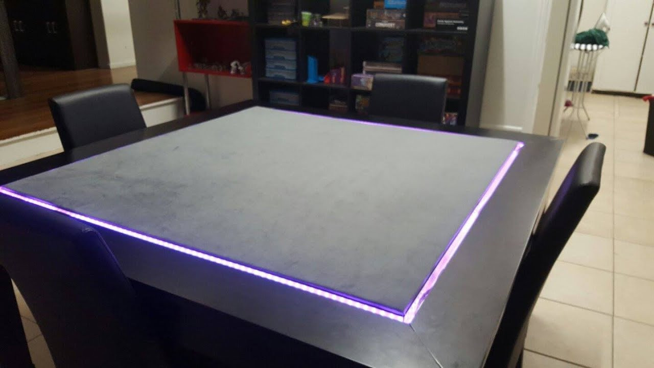 Best ideas about Gaming Table DIY . Save or Pin DIY Gaming table For AUD $350 Now.