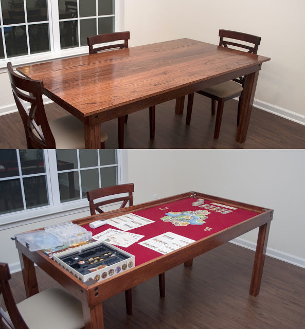 Best ideas about Gaming Table DIY . Save or Pin DIY Game Tables • The Bud Decorator Now.