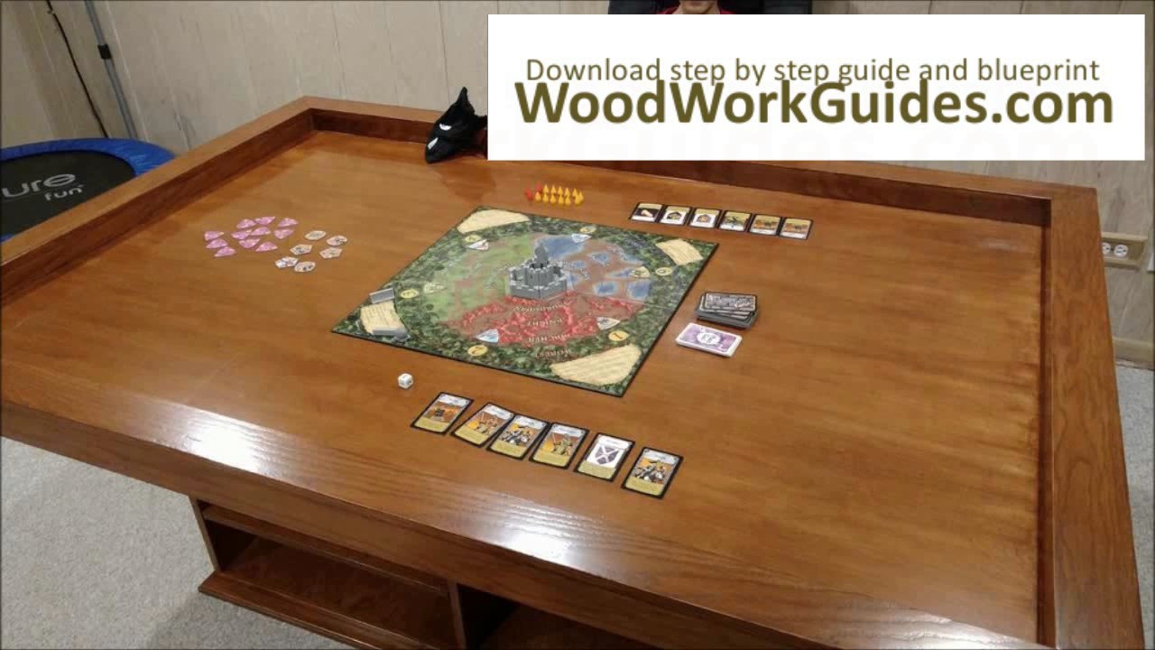 Best ideas about Gaming Table DIY . Save or Pin DIY Gaming Table Now.