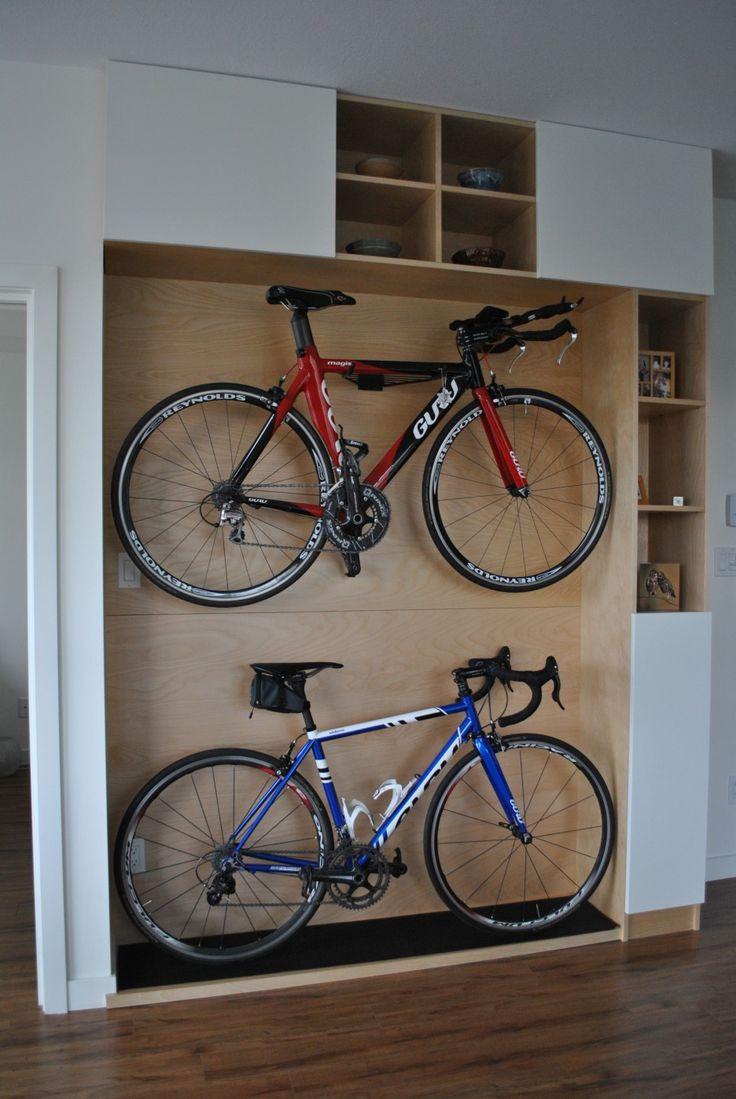 Best ideas about Garage Bike Storage Ideas DIY . Save or Pin 51 Bike Garage Storage Solutions 25 Best Ideas About Now.