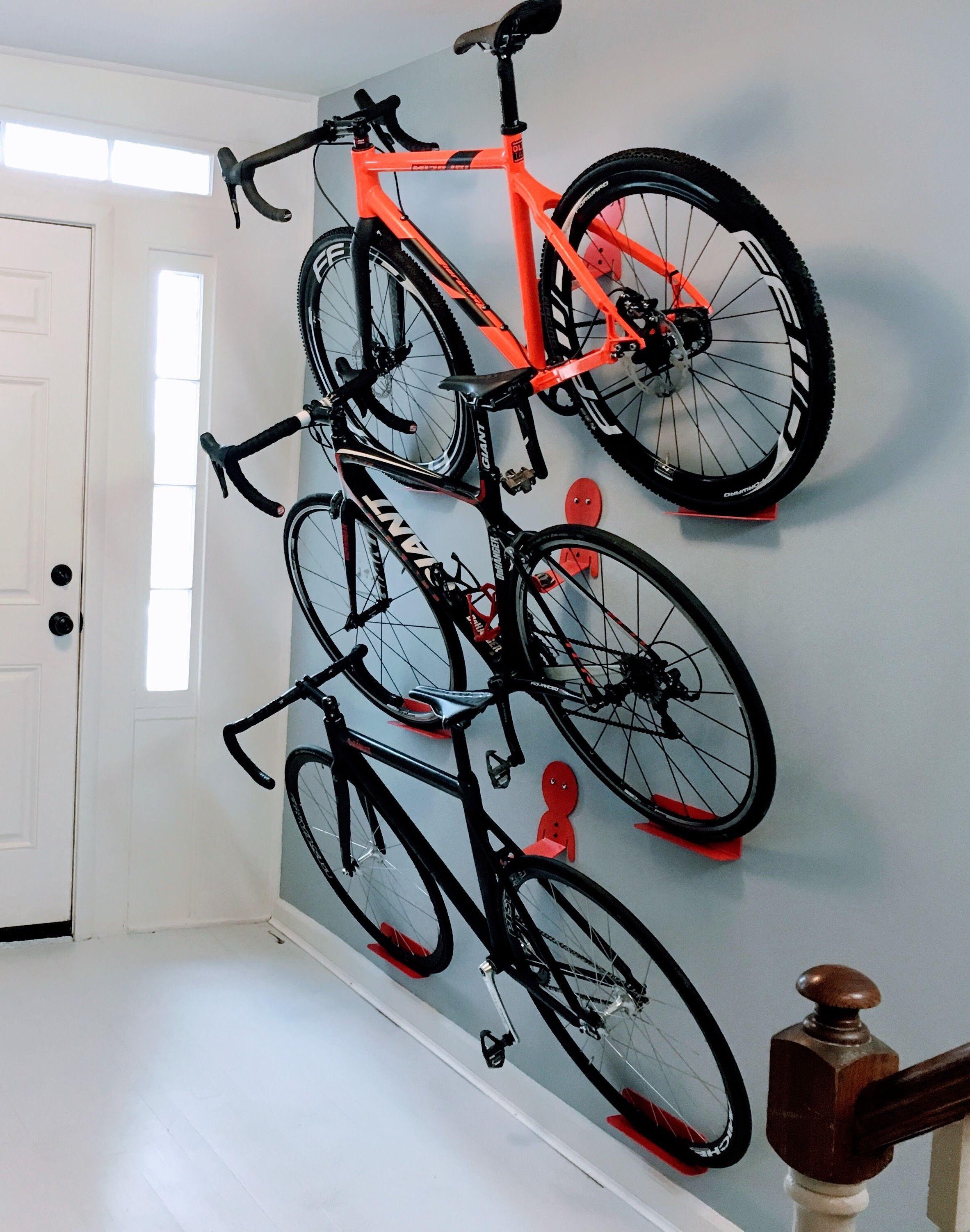 Best ideas about Garage Bike Storage Ideas DIY . Save or Pin Multiple bikes hanging rack system DaHANGER Dan pedal Now.