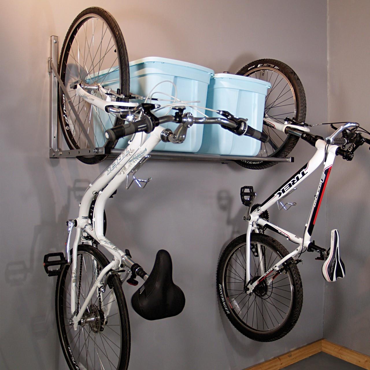 Best ideas about Garage Bike Storage Ideas DIY . Save or Pin 15 neat garage organization ideas Now.