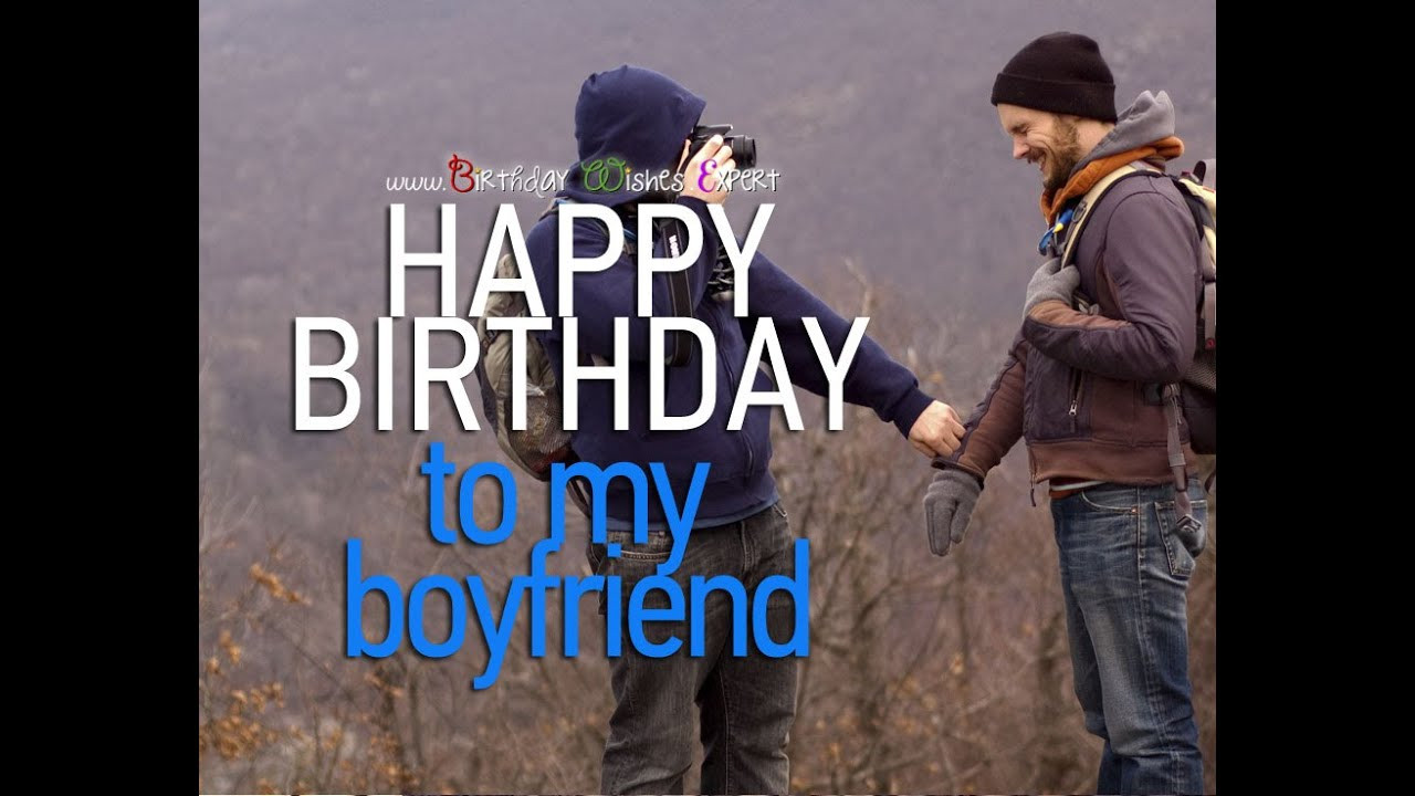 Best ideas about Gay Birthday Wishes . Save or Pin Wishing happy birthday to my boyfriend romantic Now.