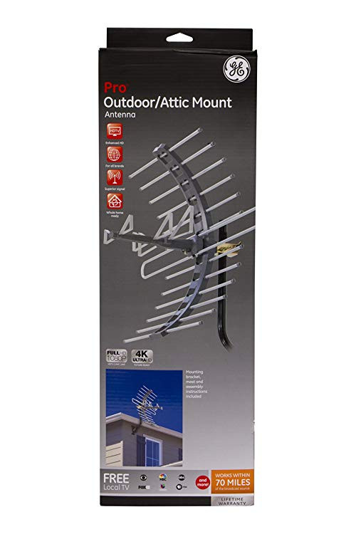 Best ideas about Ge Pro Outdoor Antenna . Save or Pin GE Pro Outdoor Attic Mount Antenna Long Range with Now.