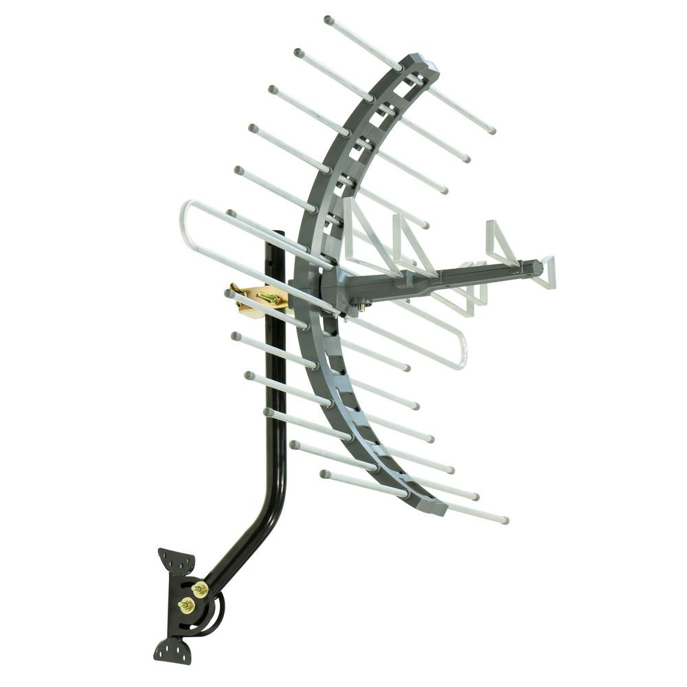 Best ideas about Ge Pro Outdoor Antenna . Save or Pin GE Pro Outdoor Attic Mount TV Antenna 70 Mile Range Now.