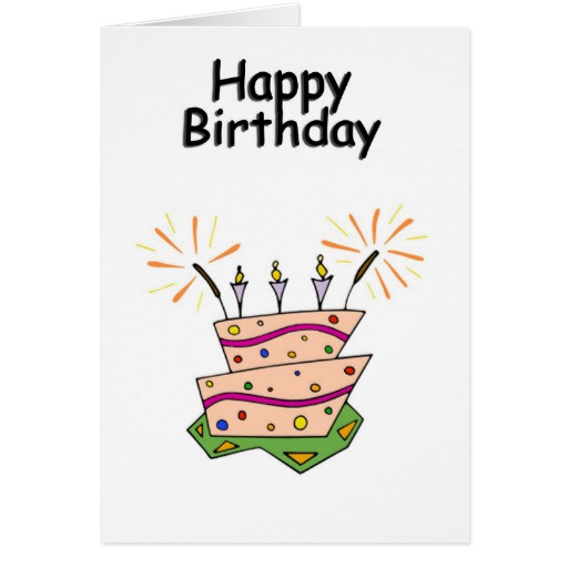 Best ideas about Generic Birthday Wishes . Save or Pin Generic Happy Birthday Greeting Greeting Card Now.