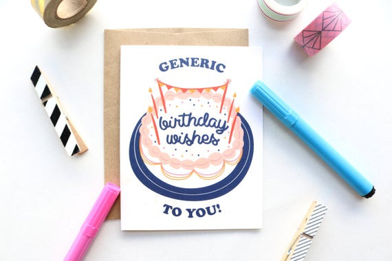 Best ideas about Generic Birthday Wishes . Save or Pin Generic Birthday Wishes To You Greeting Card Now.