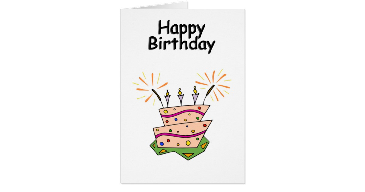 Best ideas about Generic Birthday Wishes . Save or Pin Generic Happy Birthday Greeting Card Now.