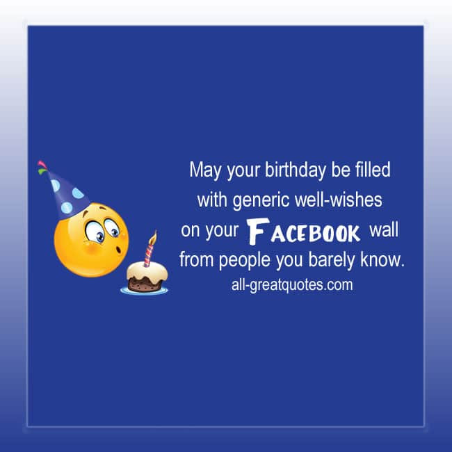 Best ideas about Generic Birthday Wishes . Save or Pin May your birthday be filled with generic well wishes Now.