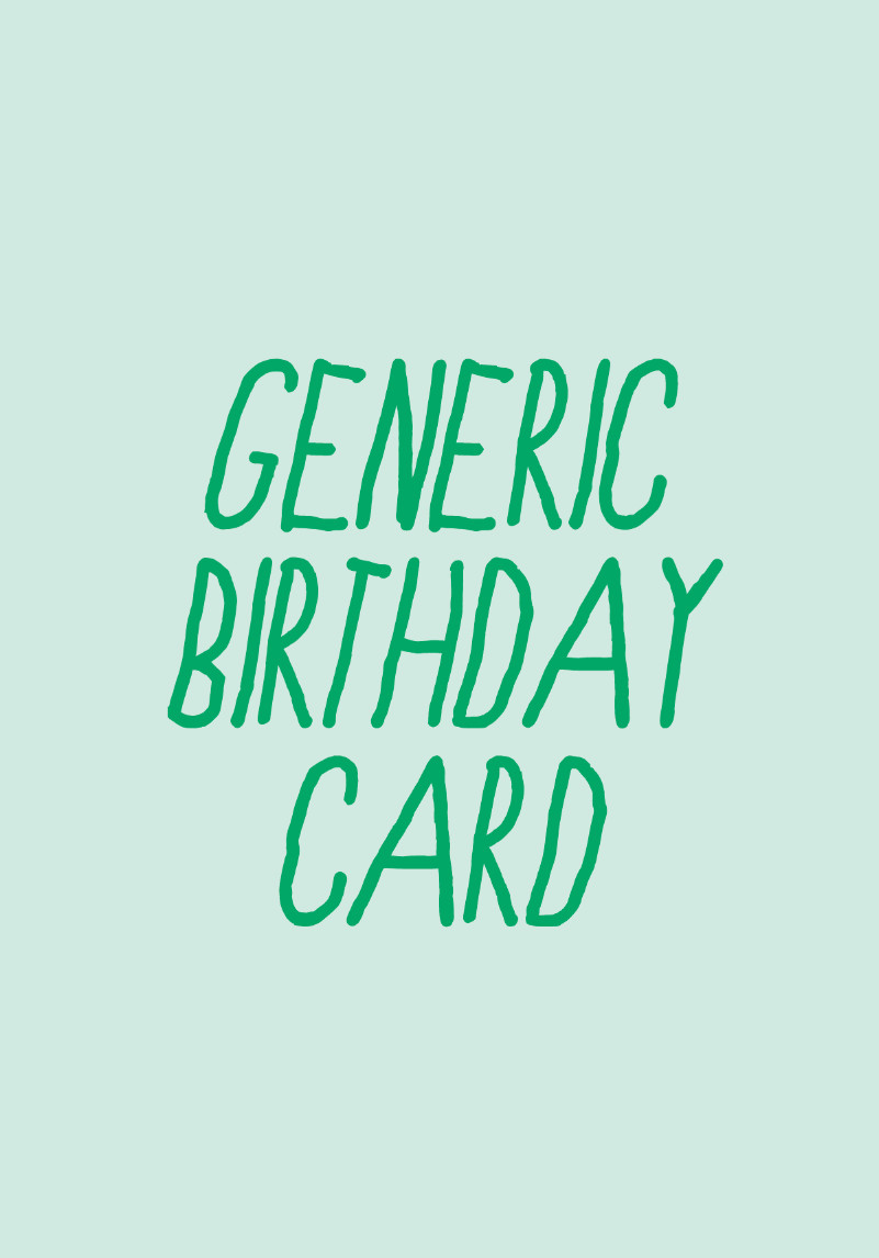 Best ideas about Generic Birthday Wishes . Save or Pin generic birthday card Now.