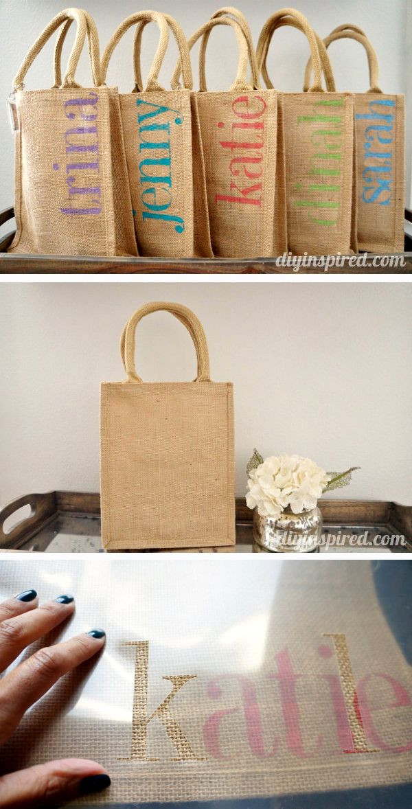 Best ideas about Gift Bags Ideas . Save or Pin DIY Bachelorette Party Favor Bags Now.