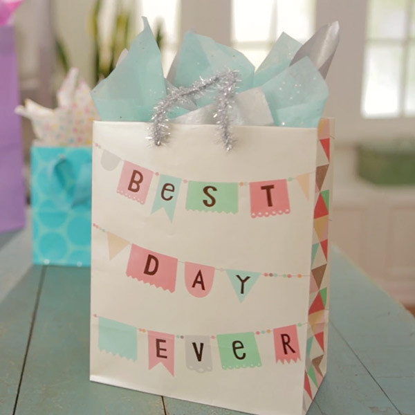 Best ideas about Gift Bags Ideas . Save or Pin Giftology Video How to Put Tissue Paper in a Gift Bag Now.