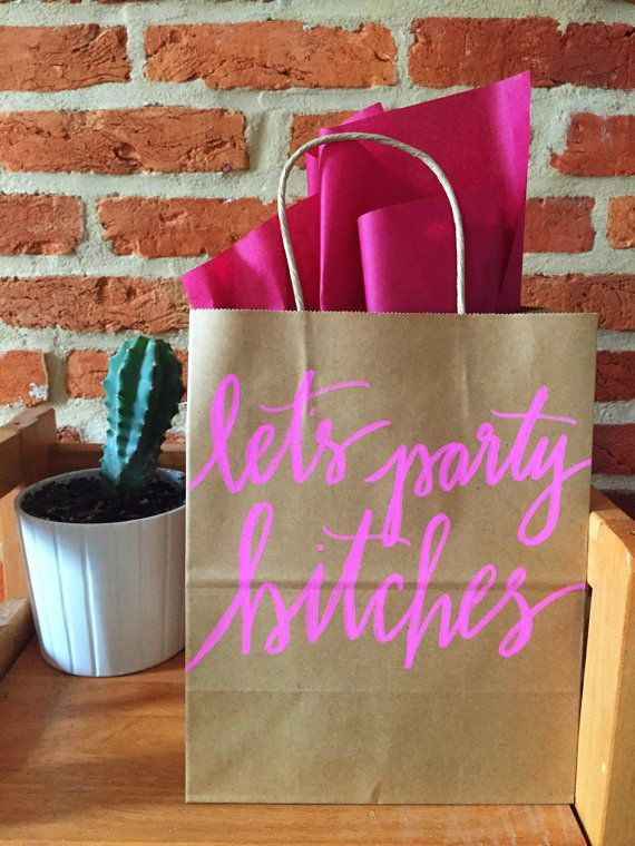 Best ideas about Gift Bags Ideas . Save or Pin 25 best ideas about Bachelorette t bags on Pinterest Now.