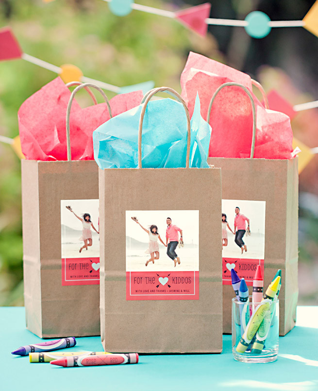 Best ideas about Gift Bags Ideas . Save or Pin Kid Wedding Favor Wedding Inspiration Now.