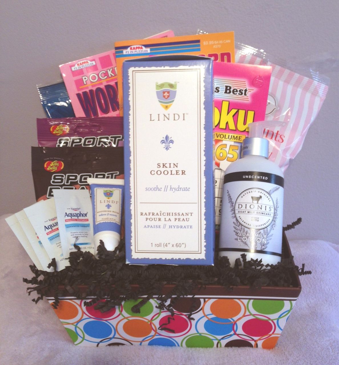 Best ideas about Gift Basket For Cancer Patient Ideas . Save or Pin Useful Deluxe Radiation Basket Gift ideas Now.
