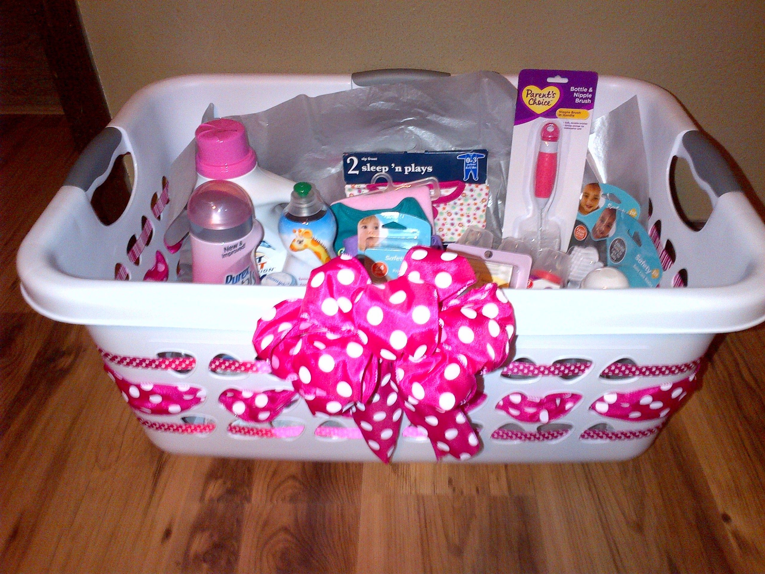 Best ideas about Gift Basket Ideas For Baby Shower . Save or Pin Laundry basket baby ts Gift ideas Pinterest Now.