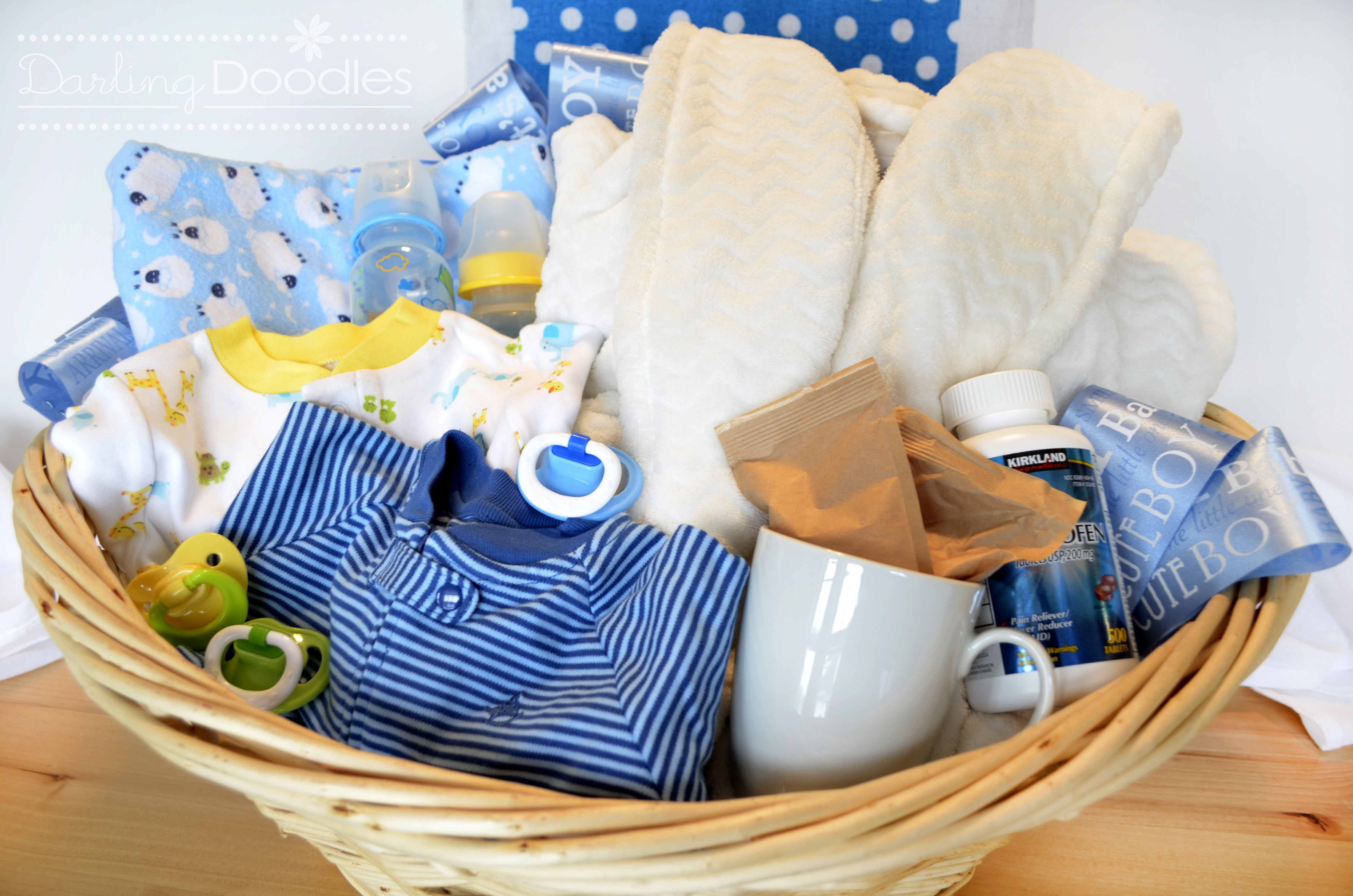 Best ideas about Gift Basket Ideas For Baby Shower . Save or Pin Up All Night Survival Kit Darling Doodles Now.
