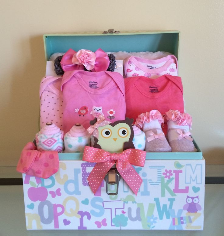 Best ideas about Gift Basket Ideas For Baby Shower . Save or Pin Best 25 Baby girl t baskets ideas on Pinterest Now.