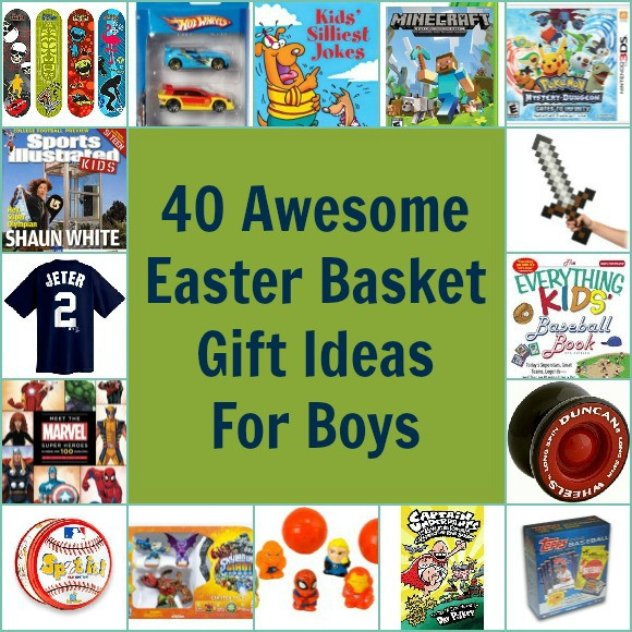 Best ideas about Gift Basket Ideas For Boys . Save or Pin 40 Awesome Easter Basket Gift Ideas for Boys Pretty Now.