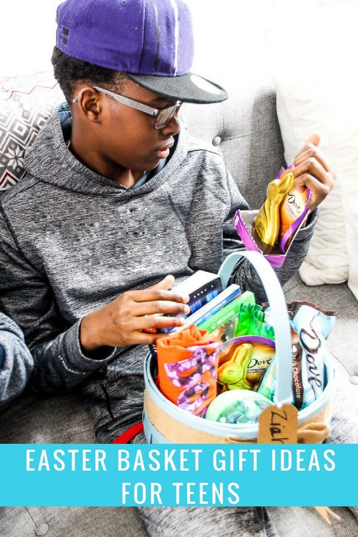 Best ideas about Gift Basket Ideas For Boys . Save or Pin Easter Basket Gift Ideas for Teens This Worthey Life Now.