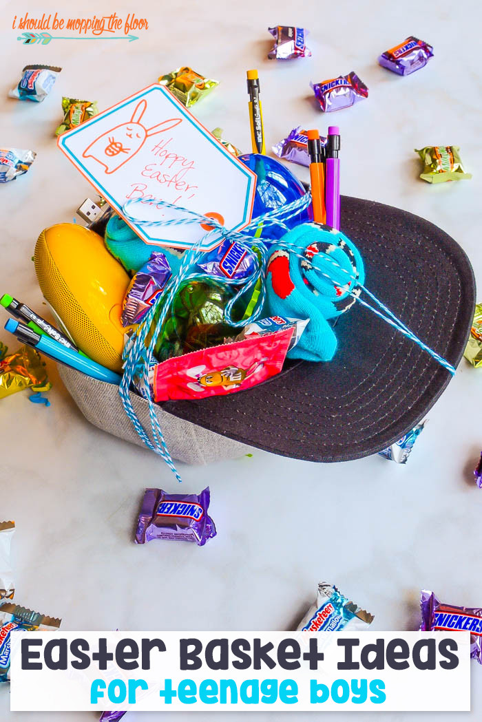 Best ideas about Gift Basket Ideas For Boys . Save or Pin i should be mopping the floor Easter Basket Ideas for Now.